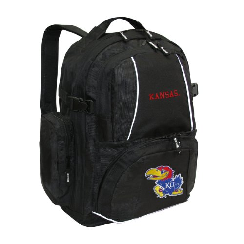 NCAA Kansas Jayhawks Trooper Backpack (Kansas Jayhawks Backpack)