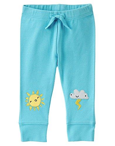 Gymboree Baby Toddler Boys Sky Theme Leggings  Arianna Aqua  0 3 Months