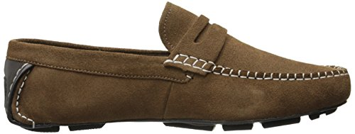 Stacy Adams Mens Ruther Slip-On Loafer Sandstone Suede VMWFX