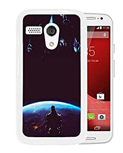 Reapers Mass Effect White Motorola Moto G Screen Phone Case Attractive and Fashion Design