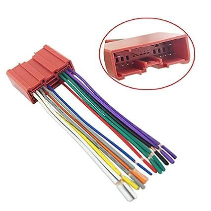 Amazon.com: Davitu Car Radio Player Wiring Harness Adapter ... on