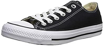 Converse Unisex Chuck Taylor All Star Ox Low Top Black Sneakers - 3.5 D(M) US