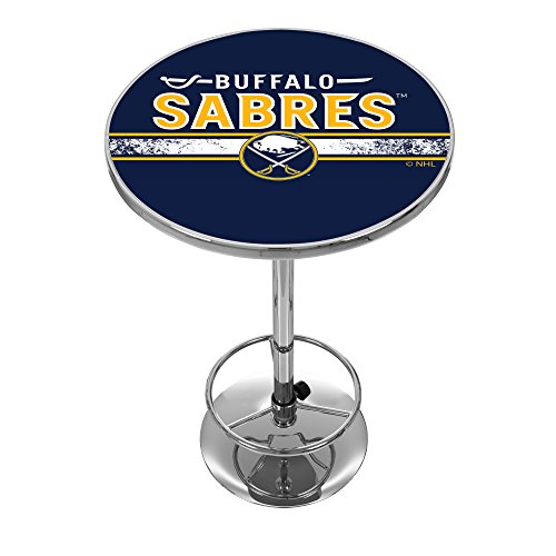 - NHL Chrome Pub Table - Buffalo Sabres