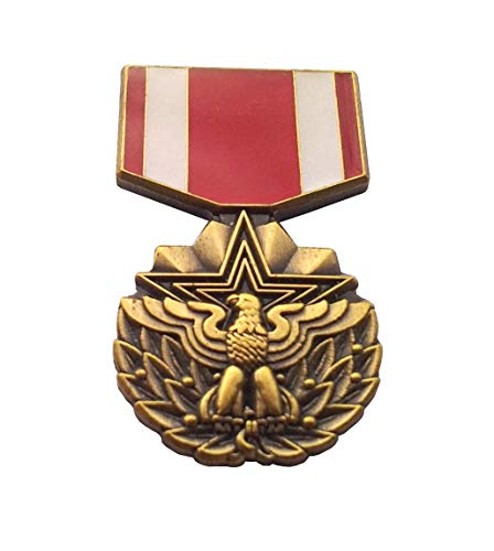 MERITORIOUS Service Medal HAT PIN Military Veteran P15056 EE