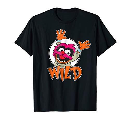 Mens Animal Muppets T Shirt (Disney Muppet Babies Wild Animal)