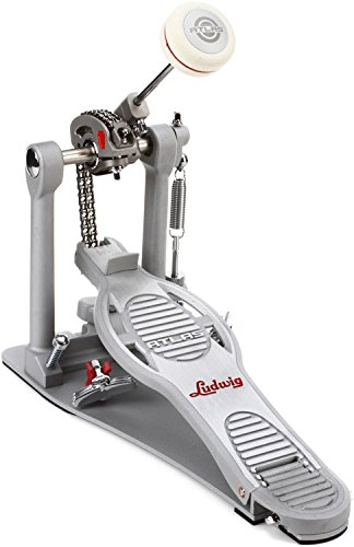 Ludwig LAP15FP Atlas Pro Bass Drum Pedal with Rock Plate by Ludwig