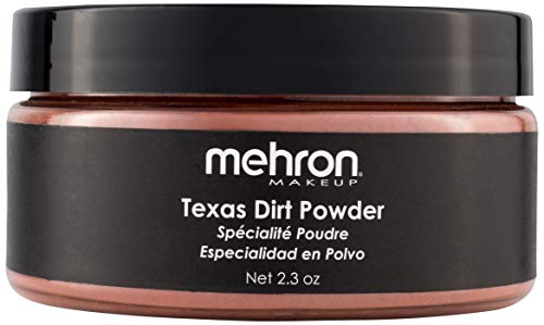 Mehron Special Makeup Effects Powder - Texas Dirt (2.3 oz)