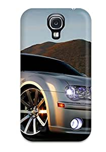 Premium Galaxy S4 Case - Protective Skin - High Quality For Chrysler Wheel