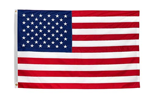 Time Roaming 3x5 Ft American Flag US Polyester Flag with Brass Grommets