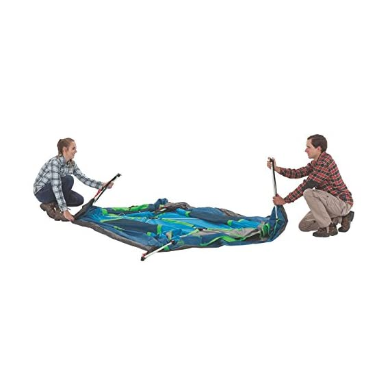 Coleman Camping Instant Signal Mountain Tent 4 Weather Tec system - patented welded floors and Inverted seams help keep water out Instant setup in about 60 seconds. Pre-attached poles for quicker, simpler setup - just extend and secure Integrated rainfly doesn't require separate assembly