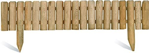 Bordure de jardin en bois à planter Quebec M: Amazon.fr: Cuisine ...