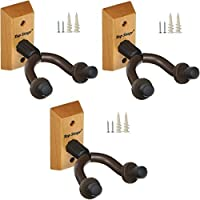 3-PACK Top Stage® Acoustic Electric Guitar Hanger Keeper Wall Stand, 3-PACK, JX15-NA