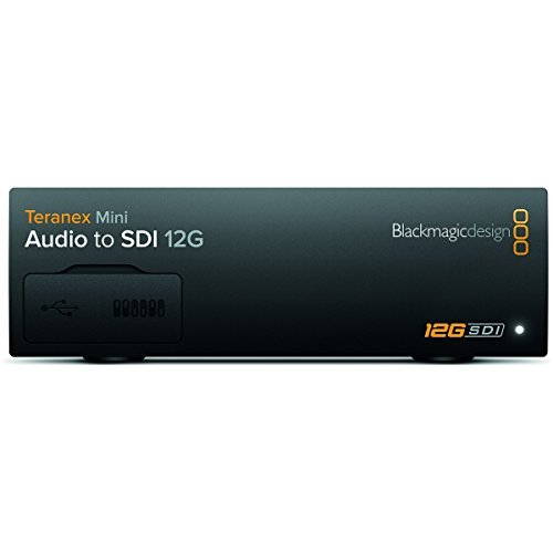 Blackmagic Design Teranex Mini Audio to SDI 12G | SD HD Ultra HD Supported Converter