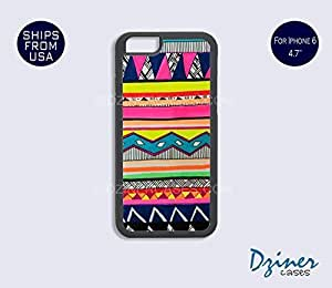 Case Cover For HTC One M9 model - Colorful Tribal Aztec Drawing