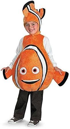 Disfraz Disney Buscando a Nemo Deluxe Costume Ni-o Un solo tama-o ...