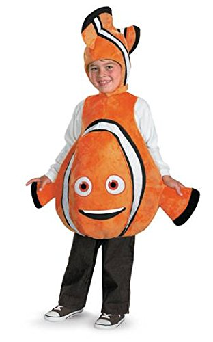 Disney Finding Nemo Costume, Orange/Black, size S/P(4-6)
