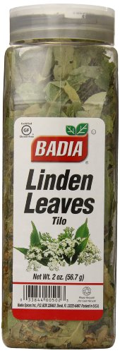 - Badia Linden Leaves, 2 Ounce (Pack of 6)
