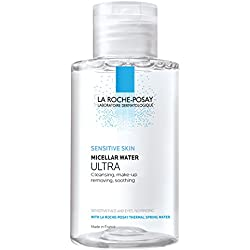 La Roche-Posay Micellar Cleansing Water and Makeup Remover for Sensitive Skin, 6.76 Fl. Oz