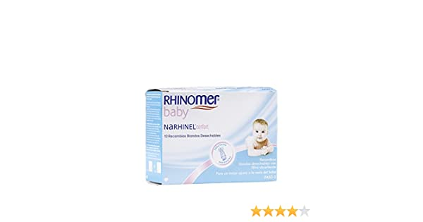 Rhinomer NARHINEL CONFORT RECAMBIO 10 unidades: Amazon.es: Bebé