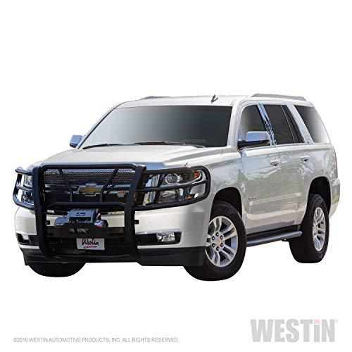 - Westin 57-93805 Black HDX Winch Mount Grille Guard