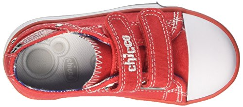 Chicco Caffe, Sneakers Para Bebés Rojo (Rosso)