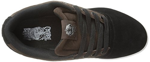 OSIRIS Skateboard Shoes CASWELL VLC BLACK/BROWN/WHITE