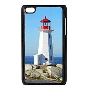 iPod Touch 4 Phone Case Black Lighthouse AH1109124
