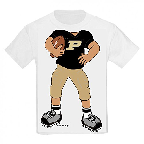 2T Football Baby//Toddler T-Shirt Purdue Boilermakers Heads Up