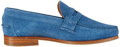 Sebago Conrad Penny, Mocasines para Hombre Azul (Blue Suede)