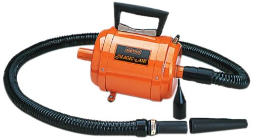 Tumbl Trak Magic Air Deluxe Electric Pump, Orange, 12-Inch Length x 6-Inch Width x 6-Inch Height by Tumbl Trak