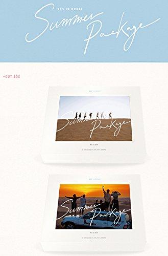 2016 Album - BTS KPOP [ SUMMER PACKAGE in DUBAI 2016 ] Album DVD + 2 Posters + Photobook + Sticker + Gift (4 Photocards Set)