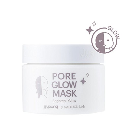 Skin Mask Impurity (JJ YOUNG Pore Glow Mask - Removes Pore Impurities and Dead Skin Cells, Hydrates Pores, And Moisturizes with Natural Element - 1.76 oz.)