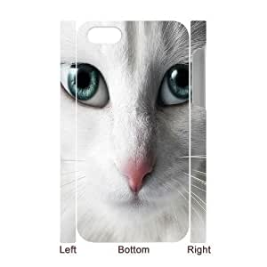 3D Bumper Plastic Case Of Lovely Cat customized case For iPhone 6 plus 5.5