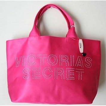 Amazon.com: Victoria Secret Bolso adornado Logo (de tela de ...