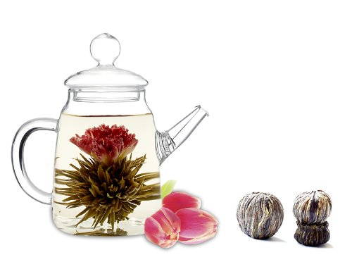 Tea Beyond Blooming Teapot Gift Set Duo LV (Pot Gift)