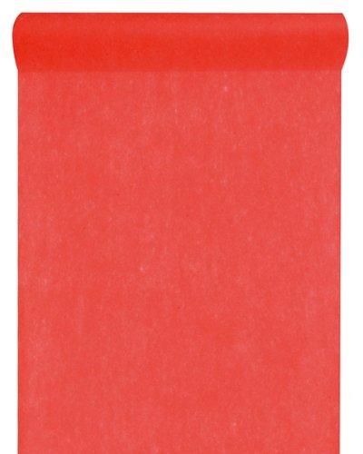 Santex Tischläufer Vlies rot 30cm x 10m