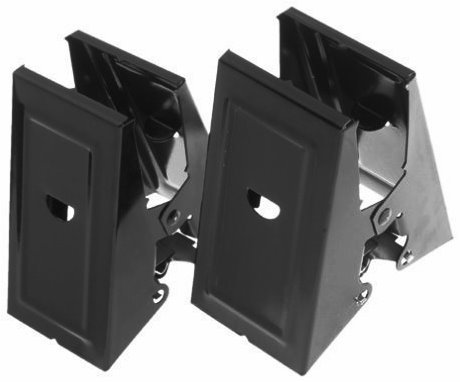 6 Pack Fulton D100 Steel Heavy Duty Sawhorse Brackets - upto 500lbs (100SHB) - 1 Pair per Package