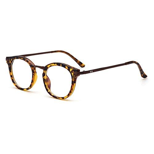 D.King Vintage Round Prescription Eyeglasses Horn Rim Clear Lens Eye Glasses Frame - Trendy For Eyeglasses Women
