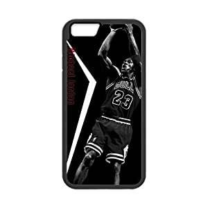 [Accessory] iPhone 6 Case, [Michael Jordan] iPhone 6 (4.7) Case Custom Durable Case Cover for iPhone6 TPU case(Laser Technology) by runtopwell