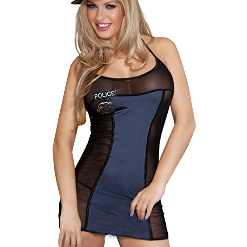 EDENIGHT Police Costume Dirty Cop Lingerie Outfits Cosplay