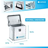 ZARGES K470 Aluminum Case, Security Safe Box, Metal