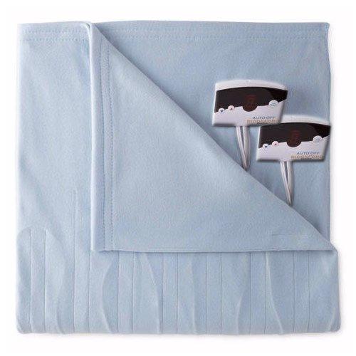 Manta térmica en tejido digital, polar, control eléctrico digital, tejido tamaños doble, grande y extragrande de Biddeford. ef08b9