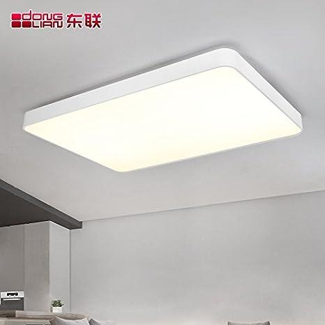 LED minimalista post-moderna lámpara de techo plano ...