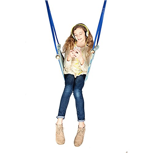 Fun and Function Canvas Seat Swing – Supports Children with Hyperactivity, Autism & Sensory Processing Disorder, Ages 3+