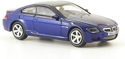 bleu 2006 voiture miniature Miniature d/éj/à mont/ée BMW M6 Ricko 1:87