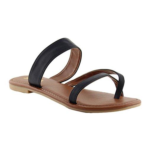 Pictures of SODA Shoes Women Flip Flops Flat Summer Deputy 3