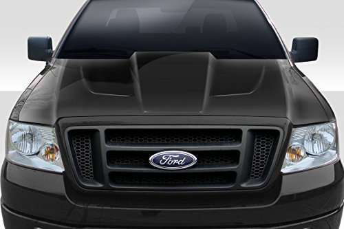 Duraflex ED-YSC-937 Xtreme Hood - 1 Piece Body Kit - Compatible For Ford F150 2004-2008 ()