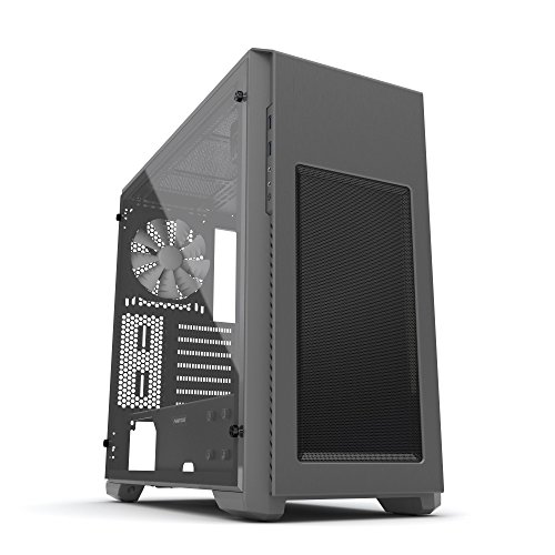 Phanteks Enthoo PRO M Acrylic Window Computer Case, Anthracite Gray Edition PH-ES515PA_AG by Phanteks
