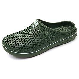 Amoji Unisex Garden Clogs Shoes Sandals Slippers