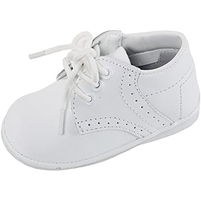 OLIVIA KOO Baby Boys Infant to Toddler Oxford Christening Shoes